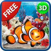 Ícone do 3D Aquarium Live Wallpaper