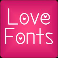 Ícone do apk Love para FlipFont® Gratis