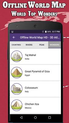 Offline world map hd 3d atlas street view android free download offline world map hd 3d atlas street view image 3 gumiabroncs Images