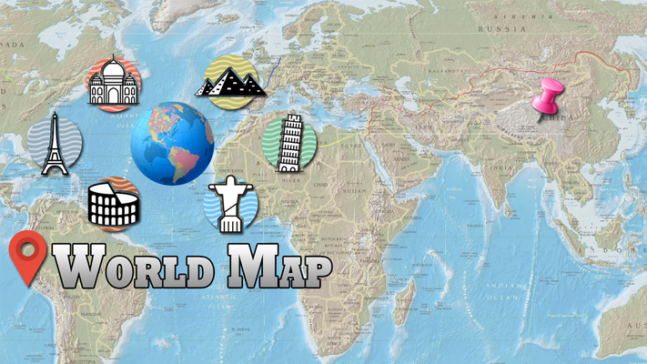 Offline world map hd 3d atlas street view android free offline world map hd 3d atlas street view image 4 gumiabroncs