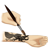 How To Draw Tattoo apk icon