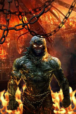 Disturbed Fire Live Wallpaper Image 1