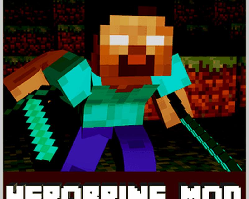 herobrine mod for minecraft android baixar herobrine mod for