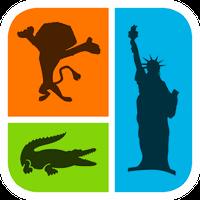Icono de ¡Adivina la sombra! Logo Quiz