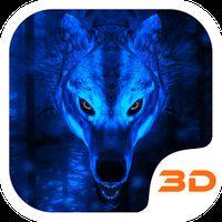 Ícone do apk Tema Ice Lobo 3D