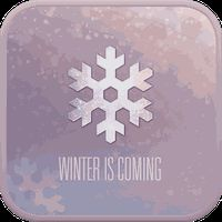 WINTER IS COMING GO SMS THEME apk icon