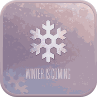 WINTER IS COMING GO SMS THEME apk icono