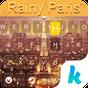 Rainy Paris Emoji iKeyboard 37.0