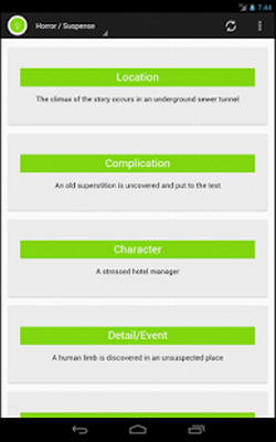 Story Plot Generator Pro Android - Free Download Story Plot