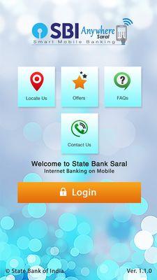 SBI Anywhere Saral screenshot apk 5