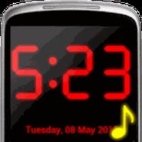 Dijital Alarm Saati Simgesi