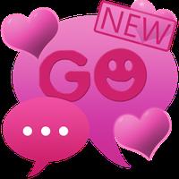 Theme Hearts for GO SMS Pro apk icon