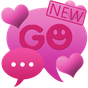 Theme Hearts for GO SMS Pro 2.0 APK