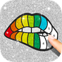 Glitter Color By Number - Glitter Number Coloring 1.6