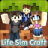 Ikona apk Life Sim Craft