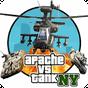 GT Apache vs Tank in New York v1.9 APK