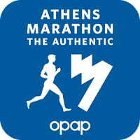 Icono de Athens Marathon. The Authentic