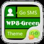 GO SMS Pro WP8 Green ThemeEX 1.0 APK