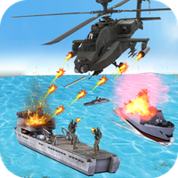 Helicopter Strike Gunship War - Real Gunner icon