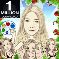 Ícone do apk MomentCam Photoshop Emoticon