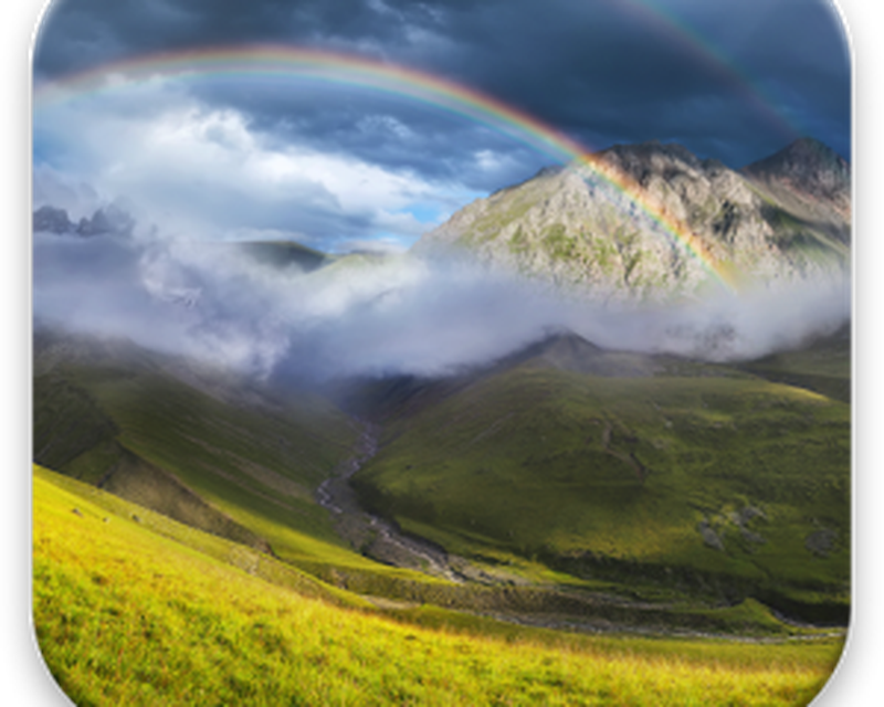 Rainbow Live Wallpaper Android Free Download Rainbow