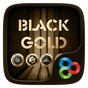 Black Gold GO Launcher Theme 3.2.0