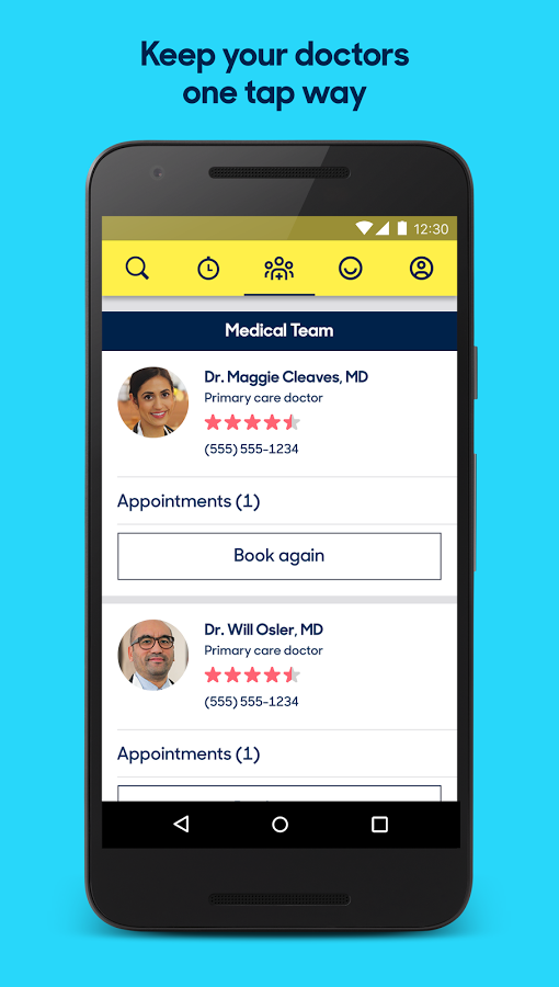 Zocdoc: Find & book a doctor Android - Baixar Zocdoc: Find
