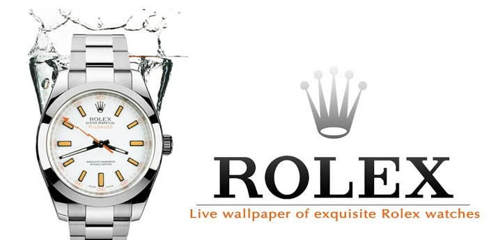 Baixar Rolex Watch Live Wallpaper 12 APK Android Gratis