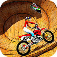 Icône de Well of Death Bike Stunt Drive