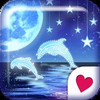 Ícone do apk Cute wallpaper★Starry Dolphin