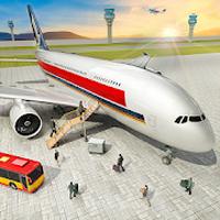 Ícone do Fly Jet Flight Airplane Landing Simulator