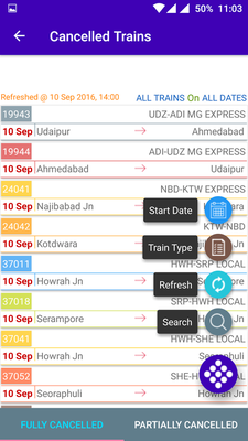 Live Train Running Status Android - Free Download Live Train