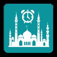 Ikon Jadwal Sholat, Kiblat dan Azan