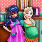 Ice Queen & Ladybug Pregnant Day Care 1.0.0 APK