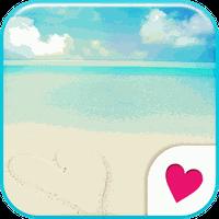 Cute wallpaper★Beautiful beach APK Simgesi