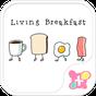 かわいい壁紙・アイコン-ファニーな朝食 1.0.1