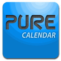 Ícone do Pure Calendar widget (agenda)