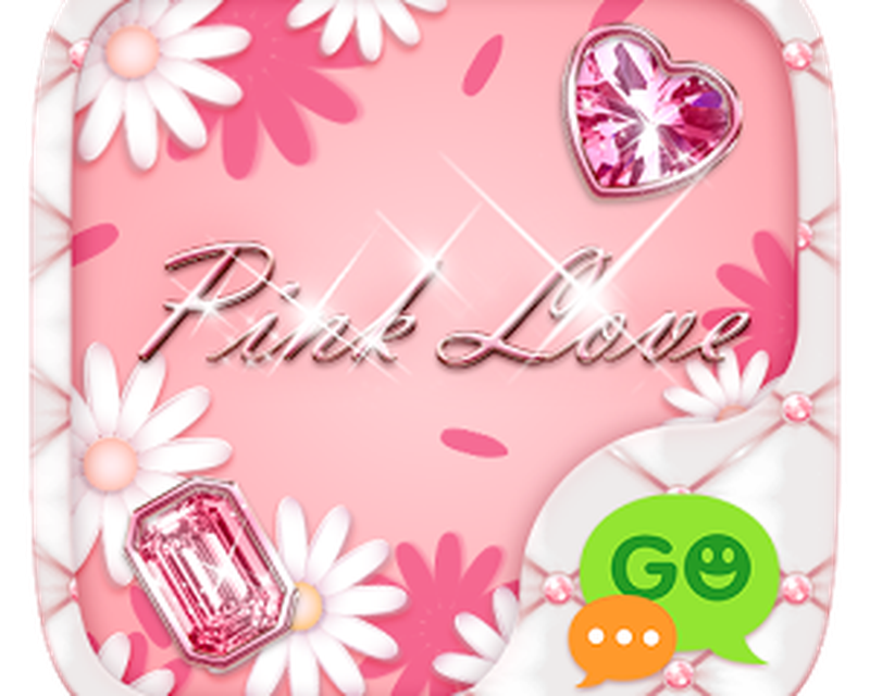 (FREE) GO SMS PINK LOVE THEME Android - Free Download (FREE