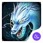 Divina Fresco Dragón Blanco-APUS Launcher tema 5