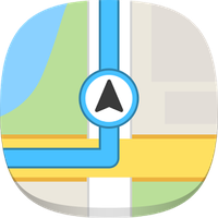 GPS Navigation & Maps - USA Simgesi
