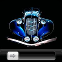 Royal Blue Car HD GO Locker Android - Baixar Royal Blue Car