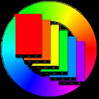 Bir Renk Seçin Gece Lambası Simgesi