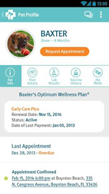 banfield pet health tracker android free download banfield pet