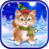 Winter Cat Live Wallpaper Android Telecharger Winter Cat Live