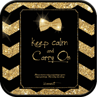 goldribbon go sms theme apk icon
