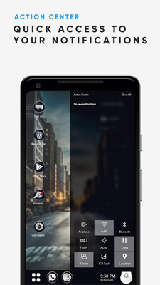 Lomo City Theme for Computer launcher Android - Free