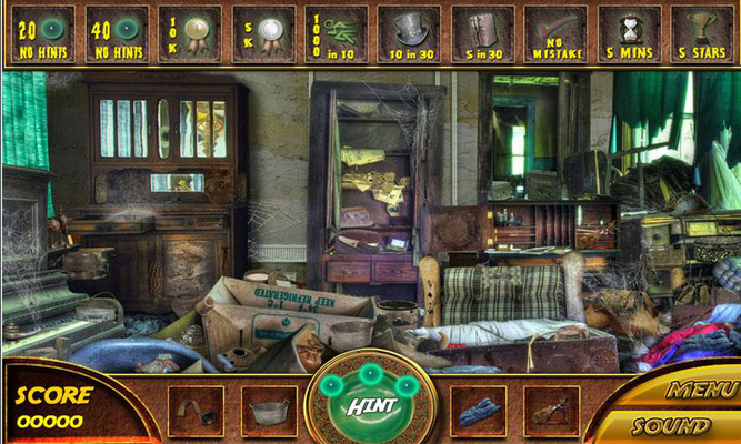 free hidden objects games for android