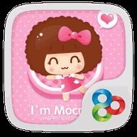 I'm Mocmoc GO Launcher Theme apk icon