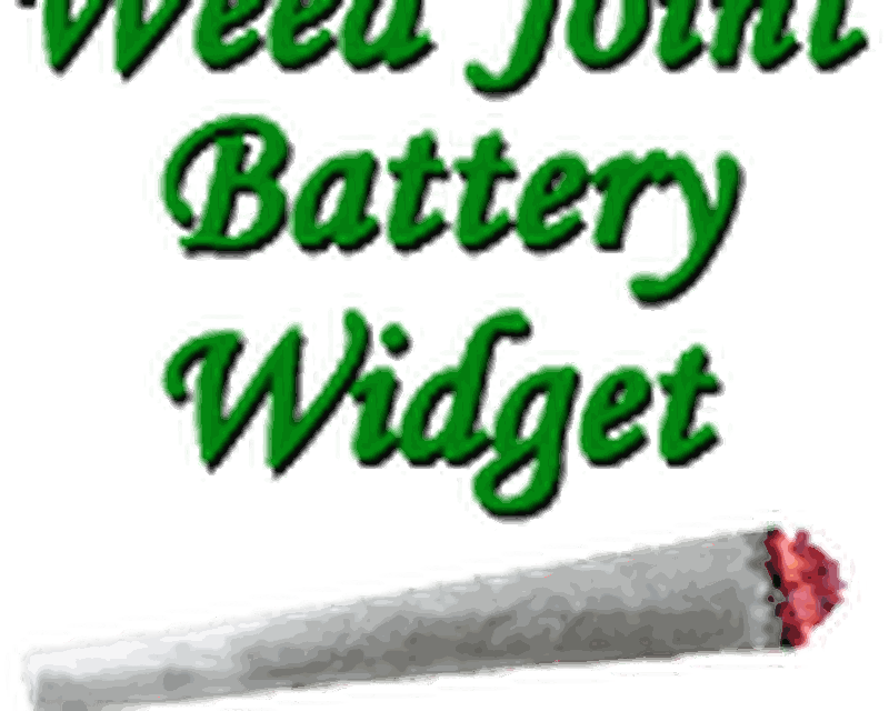 Weed Joint HD Battery Widget Android - Free Download Weed Joint