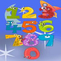 Ícone do Números para Crianças